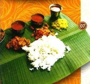 焦叶饭 Banana Leaf Rice