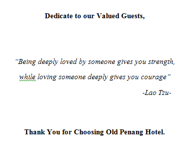Hotel Booklet